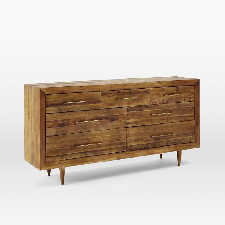 West Elm Alexa Reclaimed Wood 7-Drawer Dresser - image-4