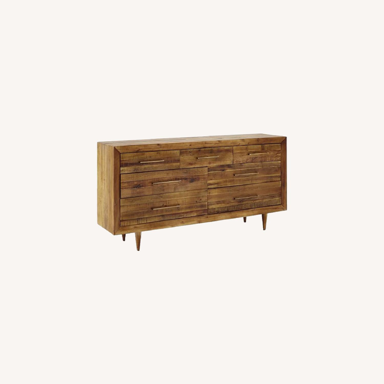 West Elm Alexa Reclaimed Wood 7-Drawer Dresser - image-0