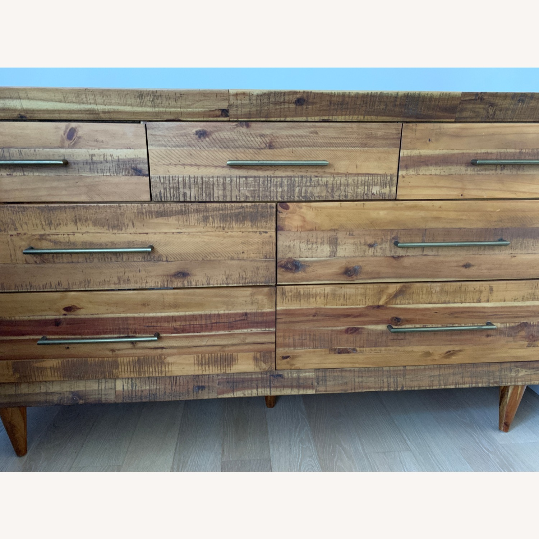 West Elm Alexa Reclaimed Wood 7-Drawer Dresser - image-1