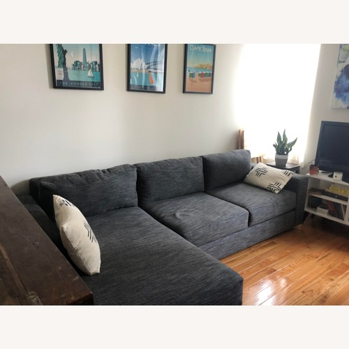 Used West Elm Urban 2 Piece Sectional for sale on AptDeco