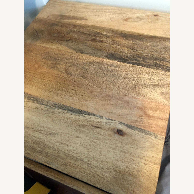 West Elm Mango Wood Side Table - image-3