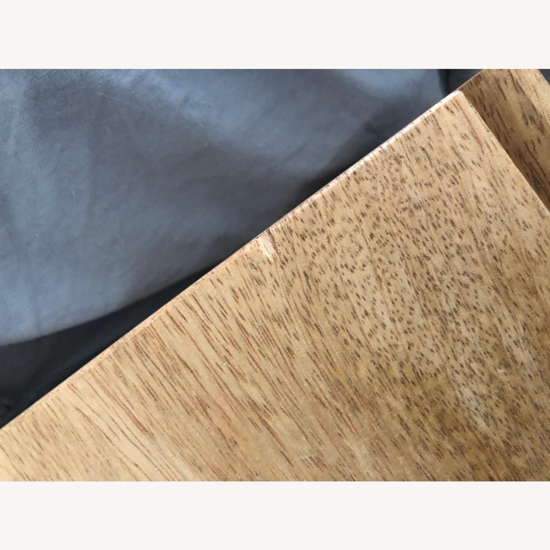 West Elm Mango Wood Side Table - image-4
