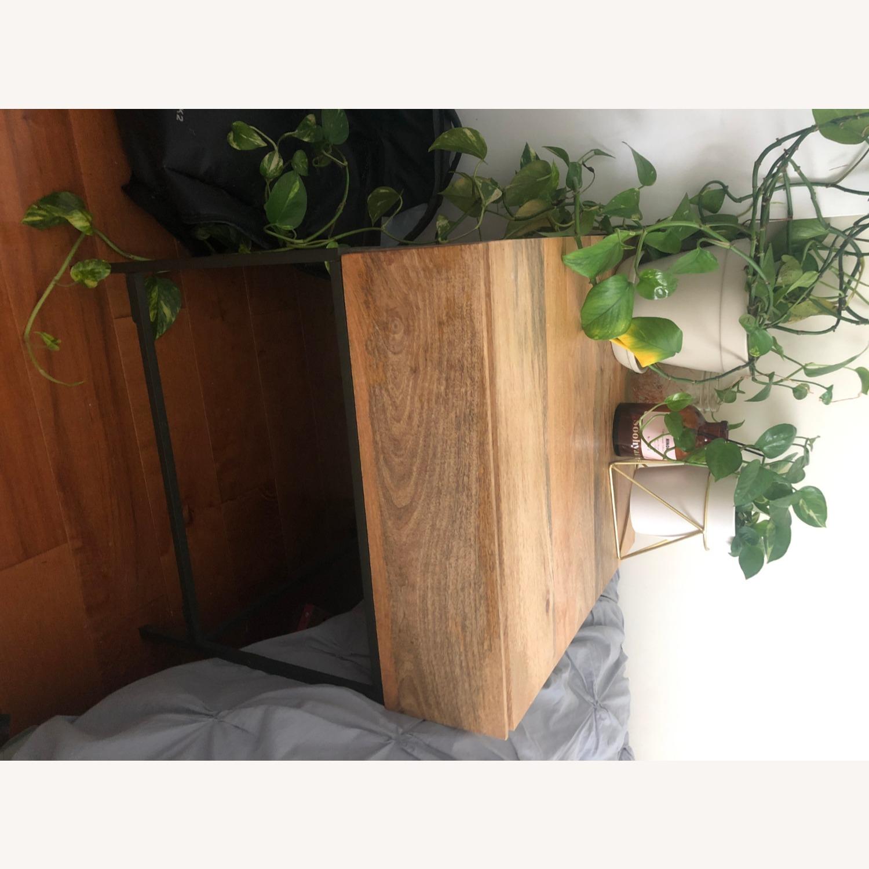 West Elm Mango Wood Side Table - image-5