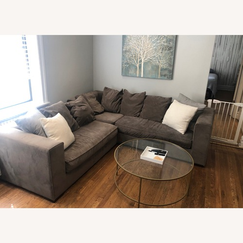Used West Elm 3 Piece Sectional Sofa for sale on AptDeco
