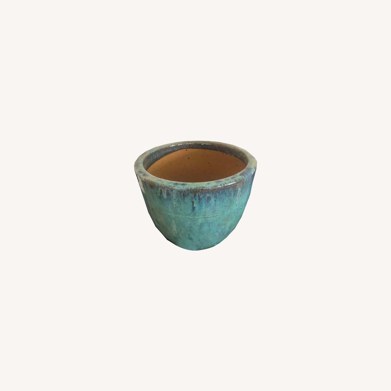 Glazed Ceramic Planters - image-0