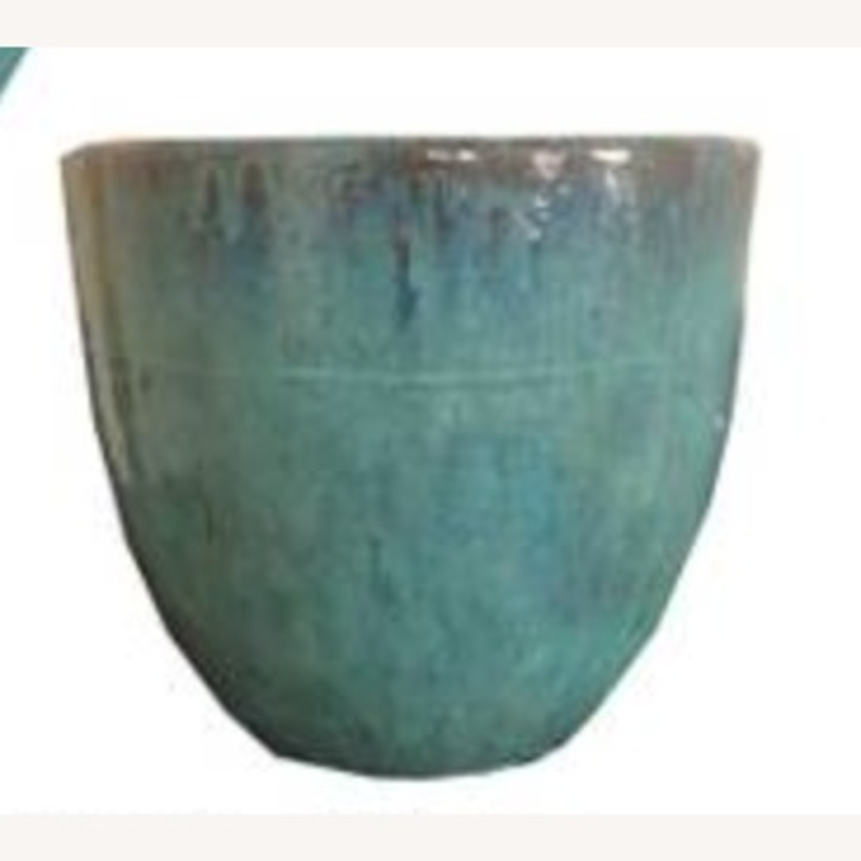 Glazed Ceramic Planters - image-1
