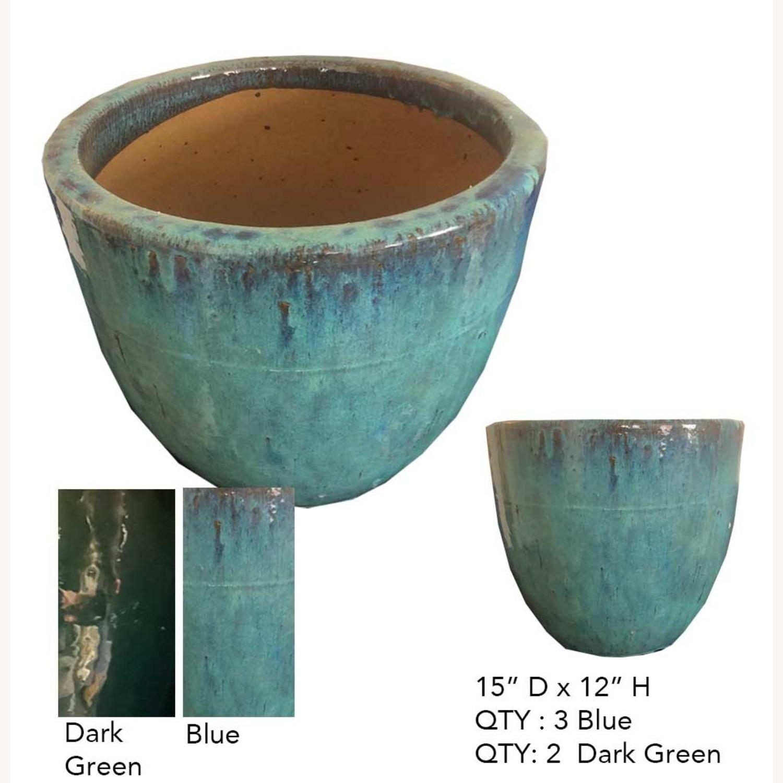Glazed Ceramic Planters - image-4