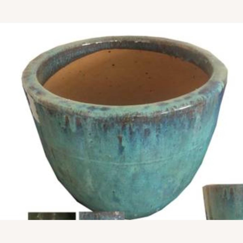 Glazed Ceramic Planters - image-2