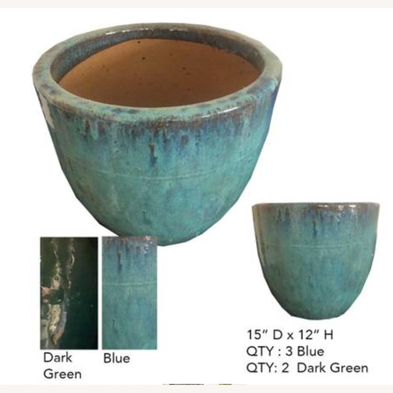 Glazed Ceramic Planters - image-3