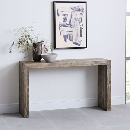 Used West Elm Emmerson Reclaimed Wood Console for sale on AptDeco