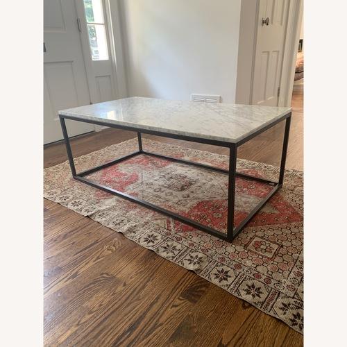 Used West Elm Box Frame Coffee Table for sale on AptDeco