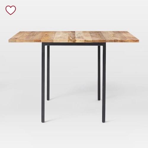Used West Elm Box Frame Drop Leaf Expandable Table for sale on AptDeco