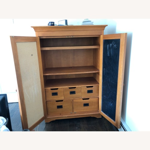 Used Pottery Barn Children's Armoire for sale on AptDeco