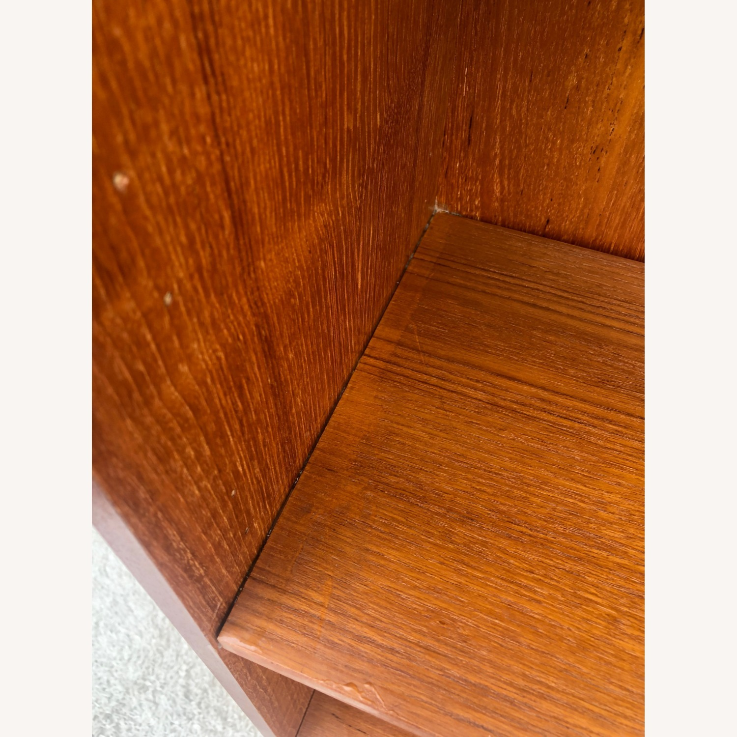 Danish Modern Teak Shelving with Cabinet - image-14