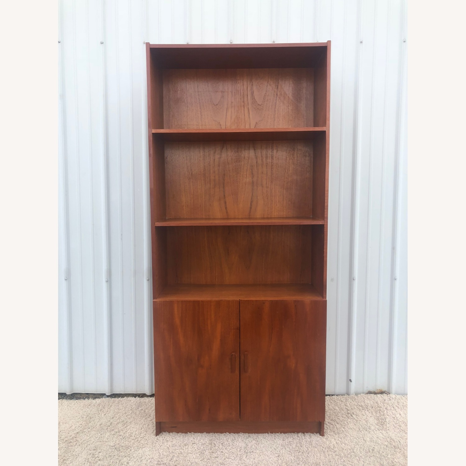Danish Modern Teak Shelving with Cabinet - image-9