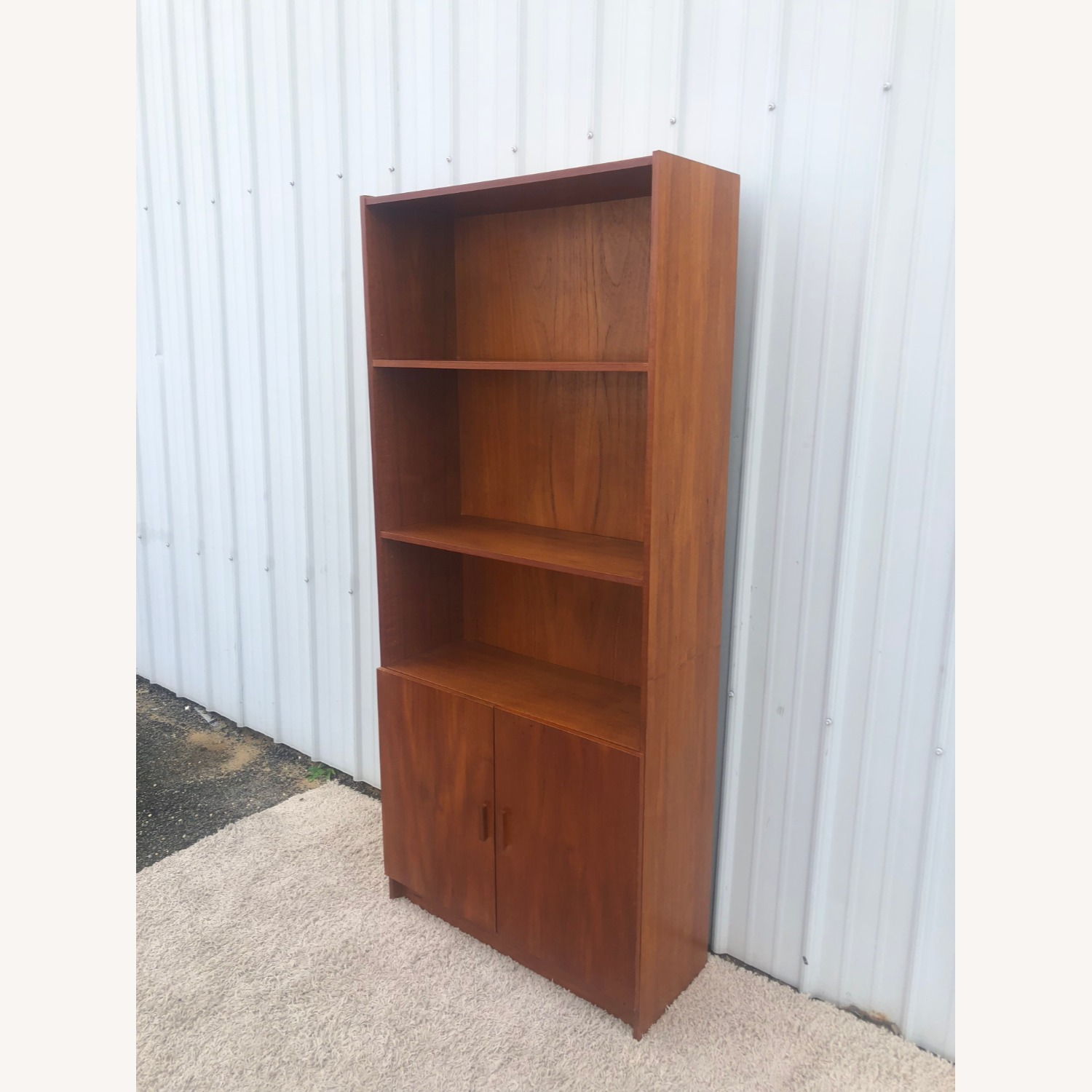 Danish Modern Teak Shelving with Cabinet - image-10