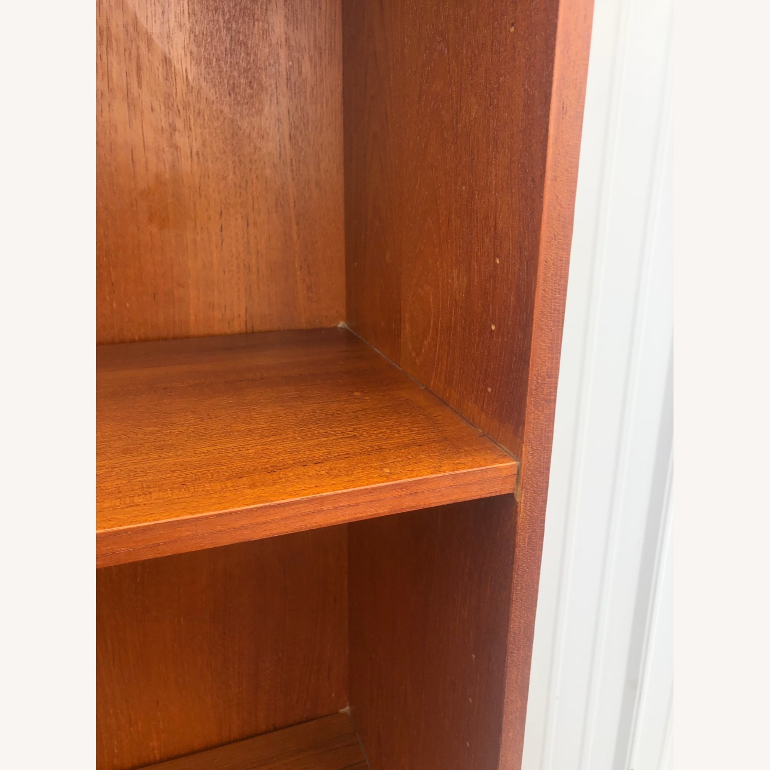 Danish Modern Teak Shelving with Cabinet - image-13