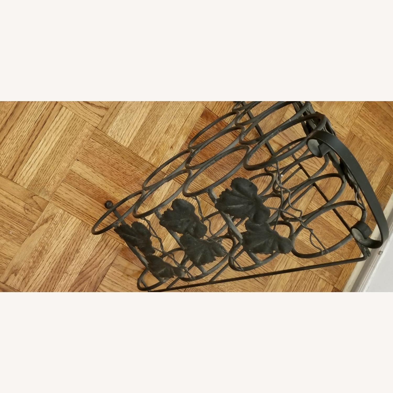 Wrought Iron Wine Rack - image-2