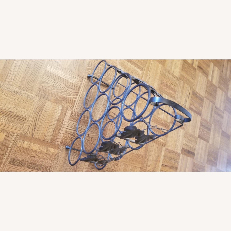 Wrought Iron Wine Rack - image-4