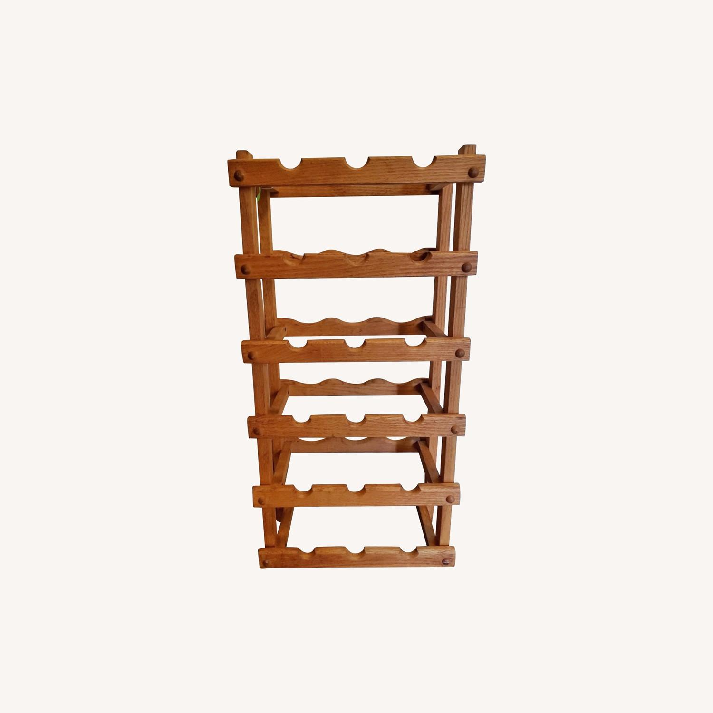 Wooden Wine Storage Rack - image-0