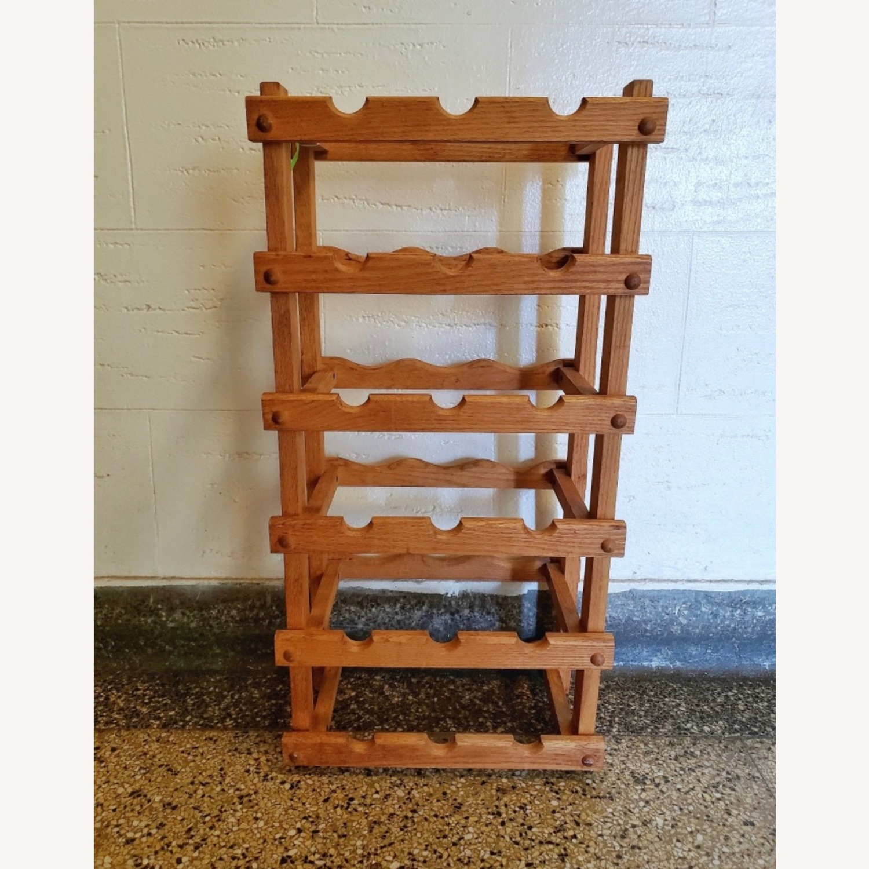 Wooden Wine Storage Rack - image-1