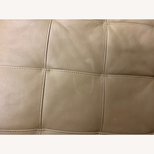 Used American Leather Rex Ottomon for sale on AptDeco