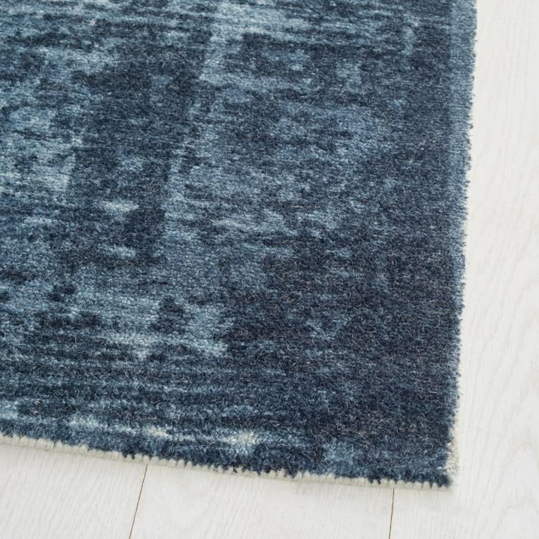 West Elm Distressed Arabesque Wool Rug - image-1