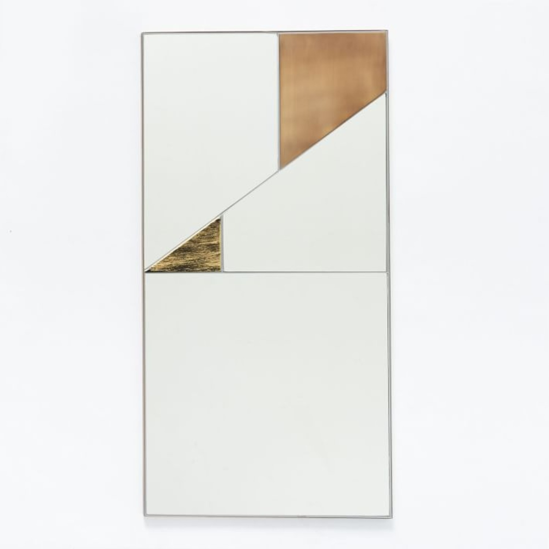 West Elm Roar + Rabbit Infinity Mirror, Panel II - image-1
