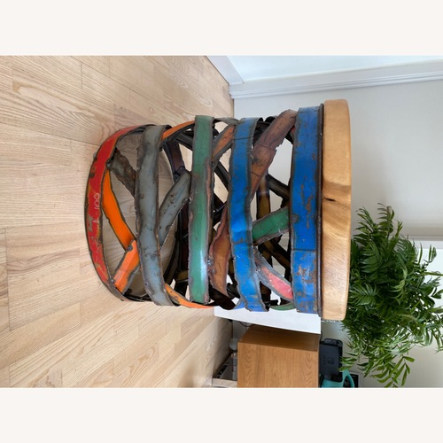 Used Sculpture Side Table for sale on AptDeco