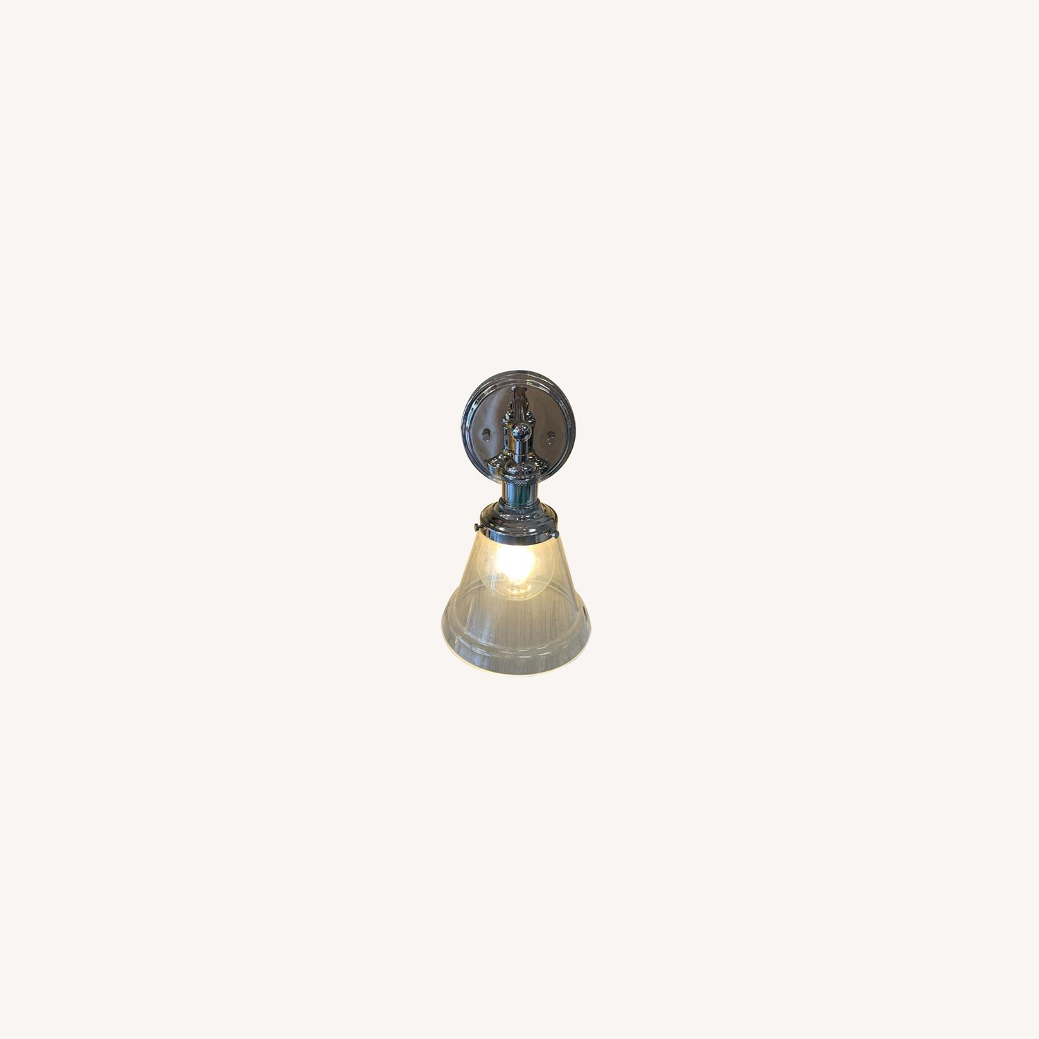 Nuvo Lighting Nickel Sconce - image-0