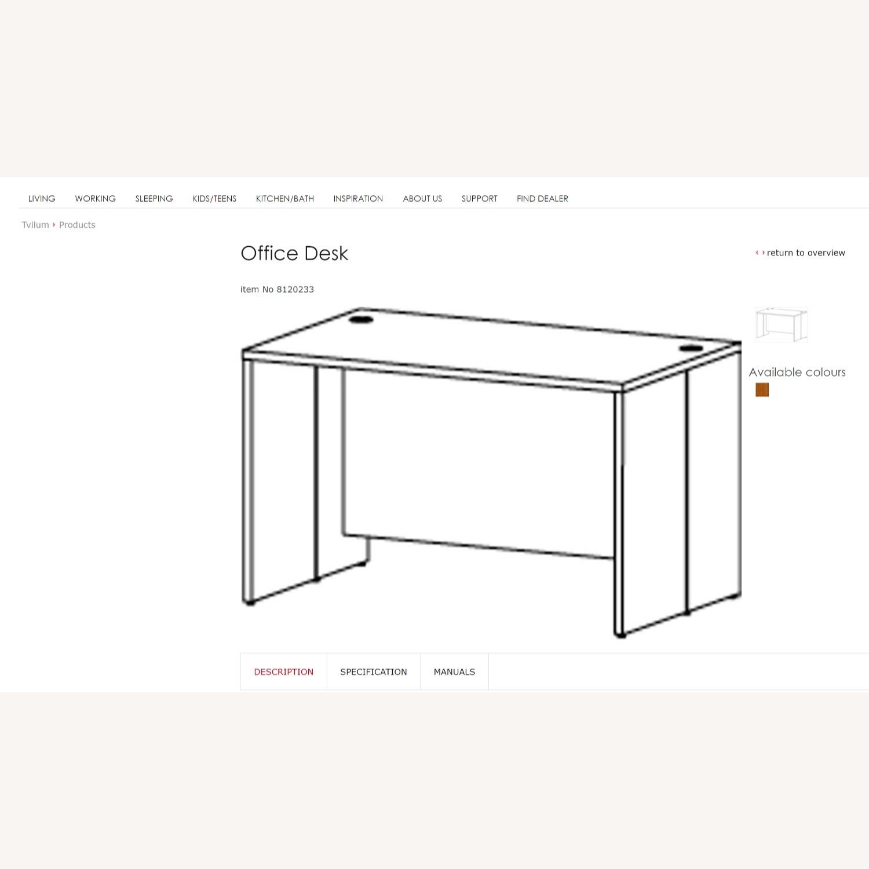 Tvilum Denmark Prima Modern Executive Desk - image-2