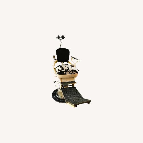 Used Leolux Ritter Vitage Dentice / Barber chair for sale on AptDeco