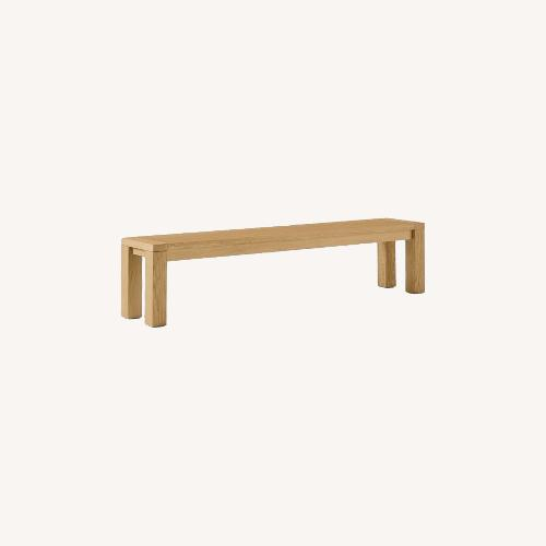 Used West Elm Tahoe Solid Wood Dining Bench for sale on AptDeco
