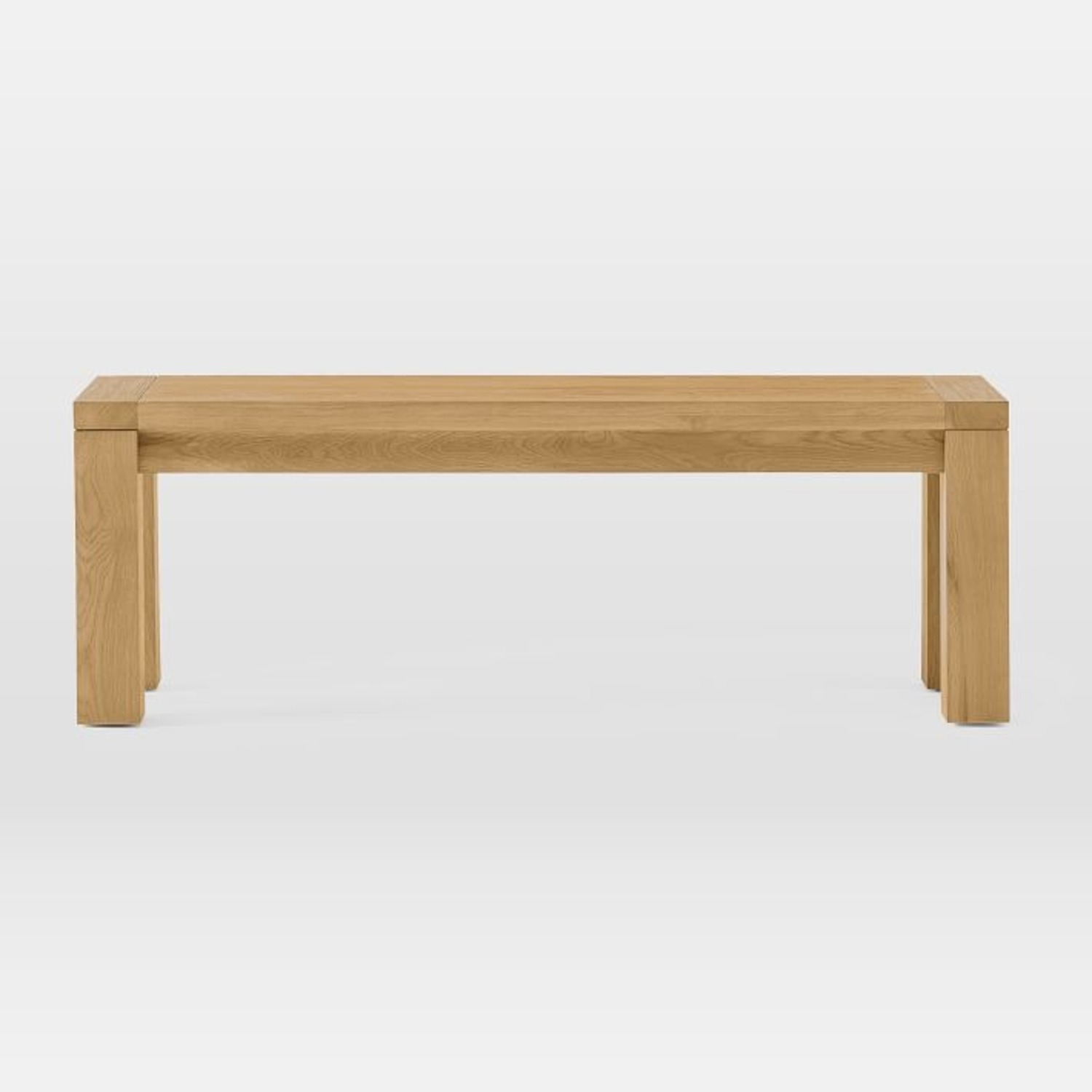 West Elm Tahoe Solid Wood Dining Bench - image-3