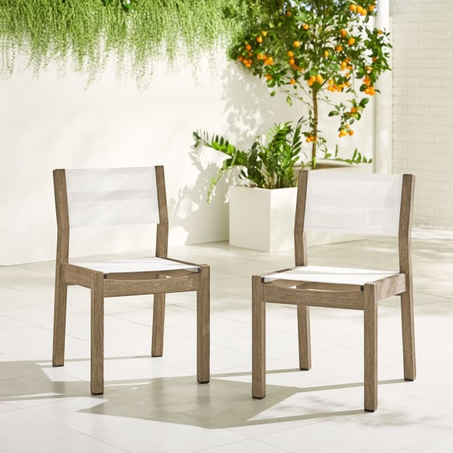 West Elm Portside Dining Chair (Set of 2) - image-1