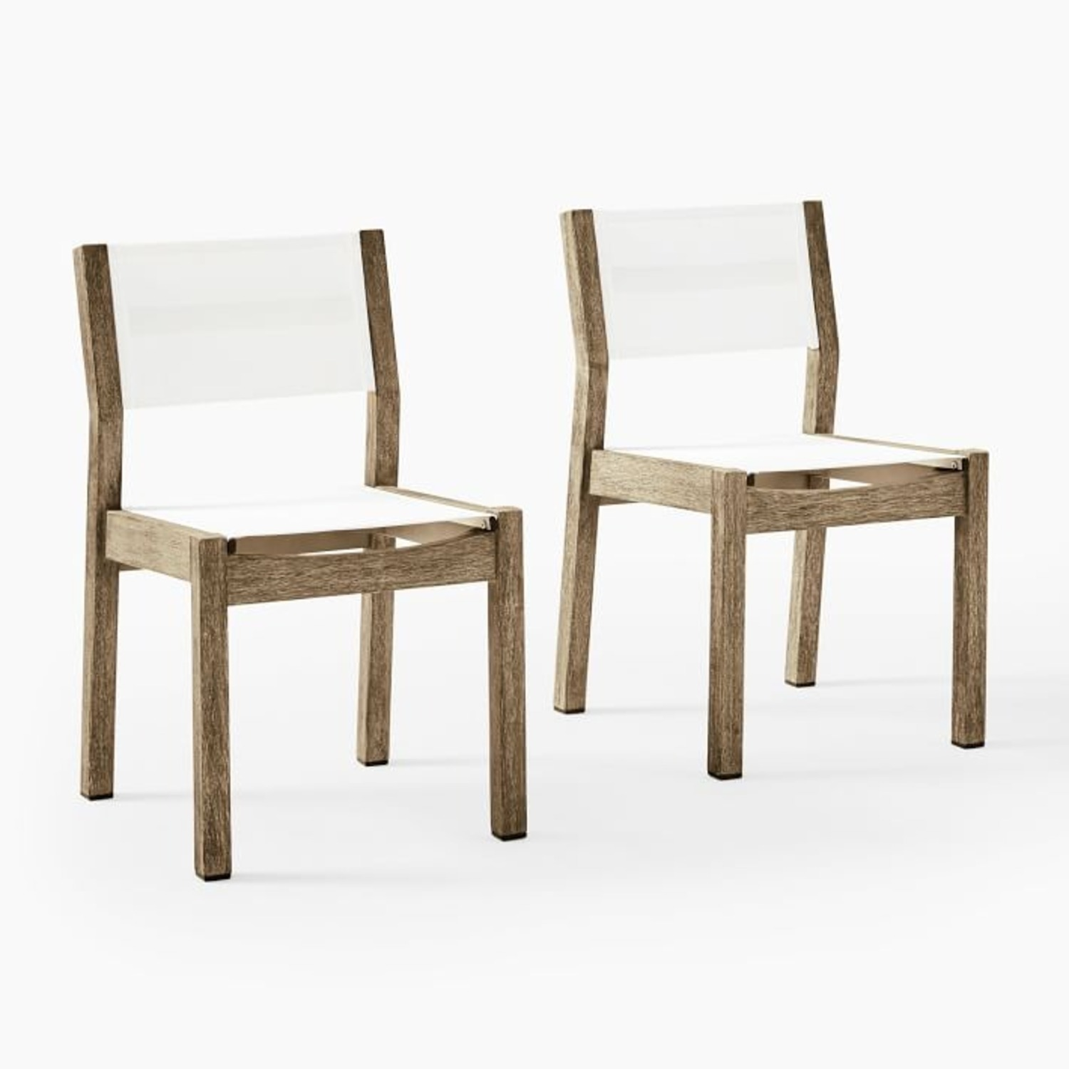 West Elm Portside Dining Chairs, Set of 2 - image-1