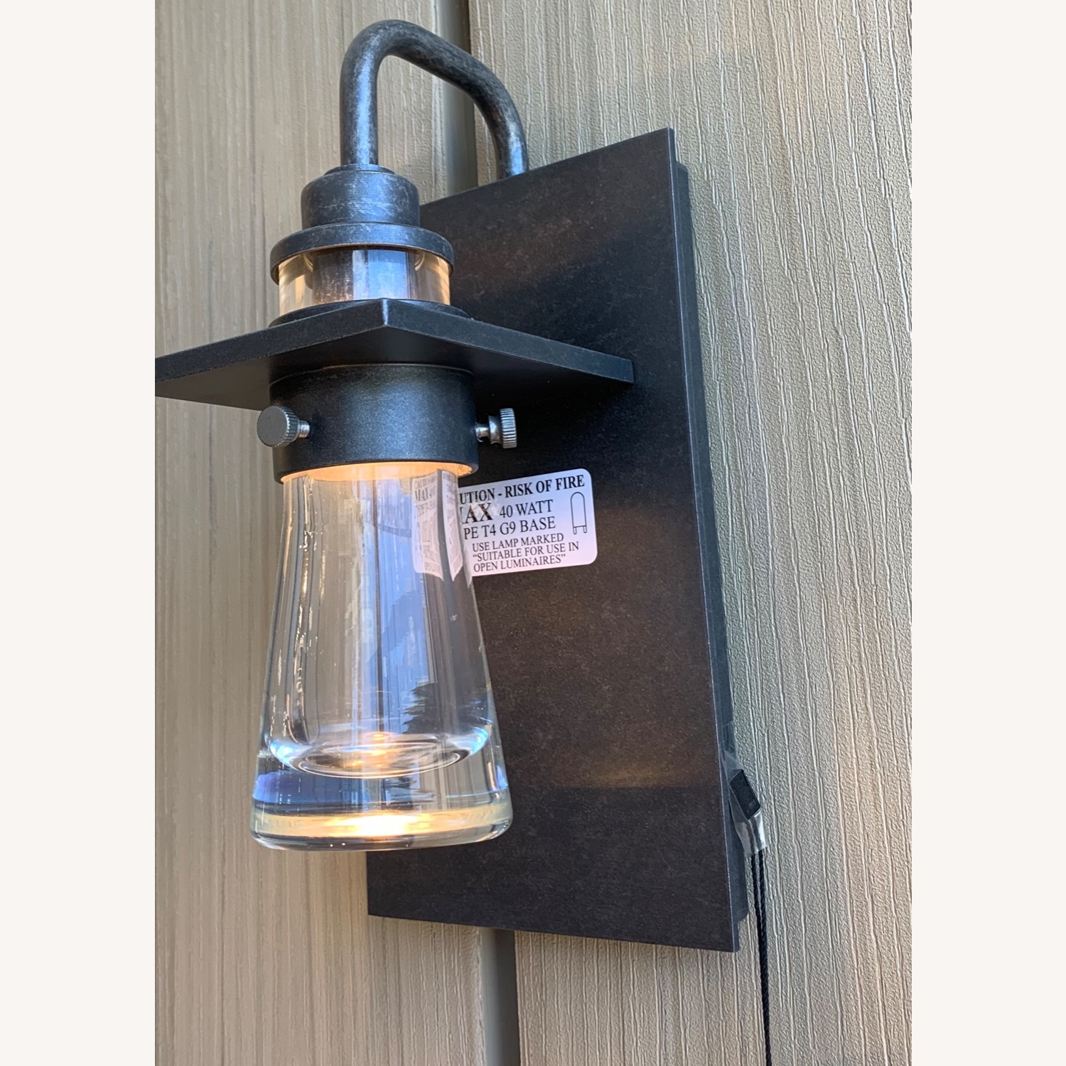Hubbardton Forge Erlenmeyer Outdoor Sconce - image-4
