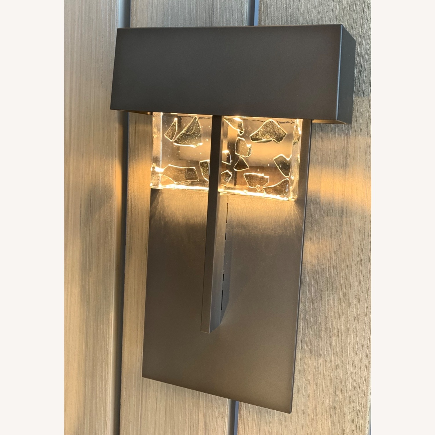 Hubbardton Forge Shard Large Outdoor Sconce - image-2