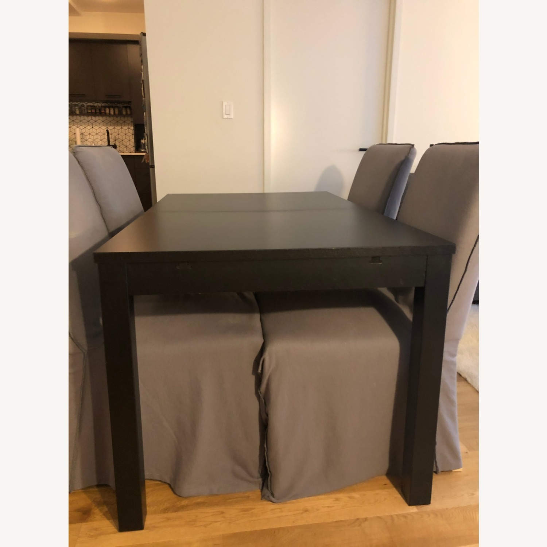 Ikea Bjursta Extendable Table Aptdeco