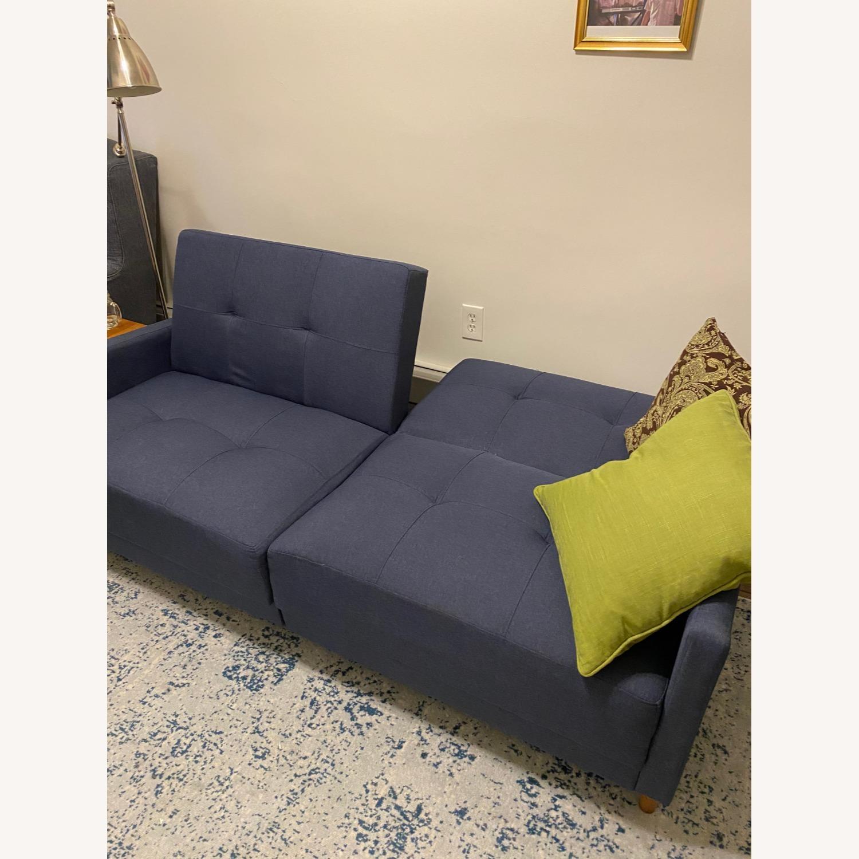 wayfair navy blue wayfair convertible sofa bed