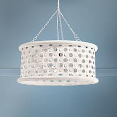 Used Arteriors  Stunning Detailed Pendant Light Fixture for sale on AptDeco