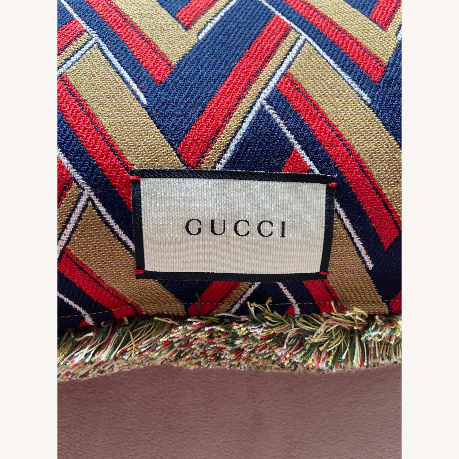 Gucci Kingsnake Pillow Red - image-5