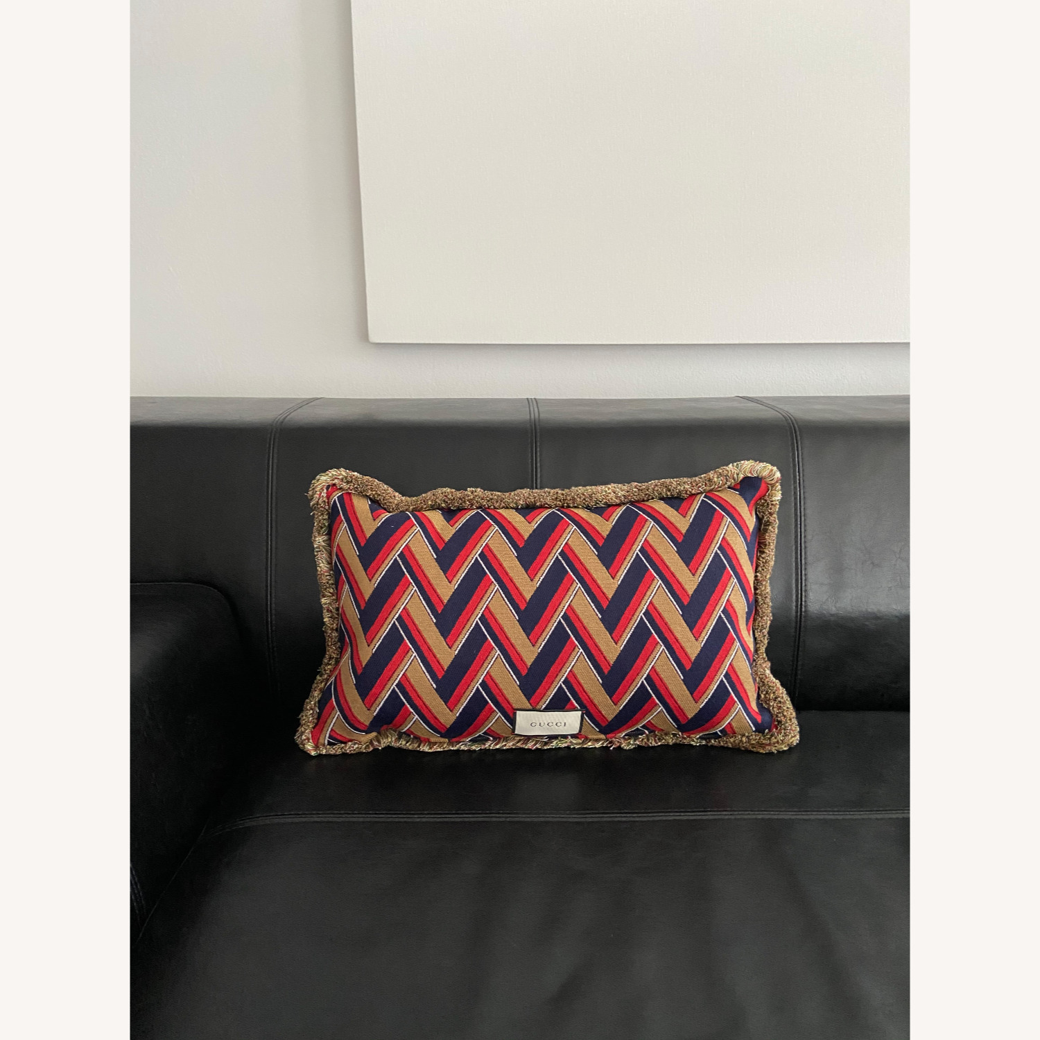 Gucci Kingsnake Pillow Red - image-8