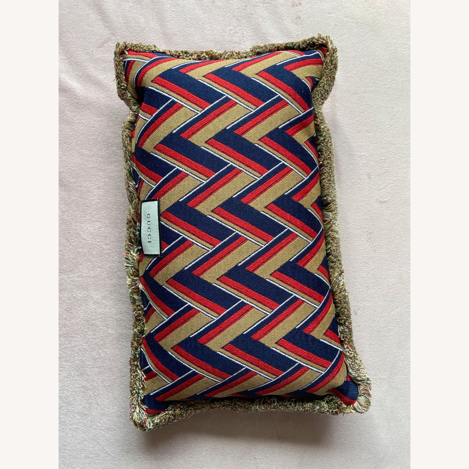 Gucci Kingsnake Pillow Red - image-7