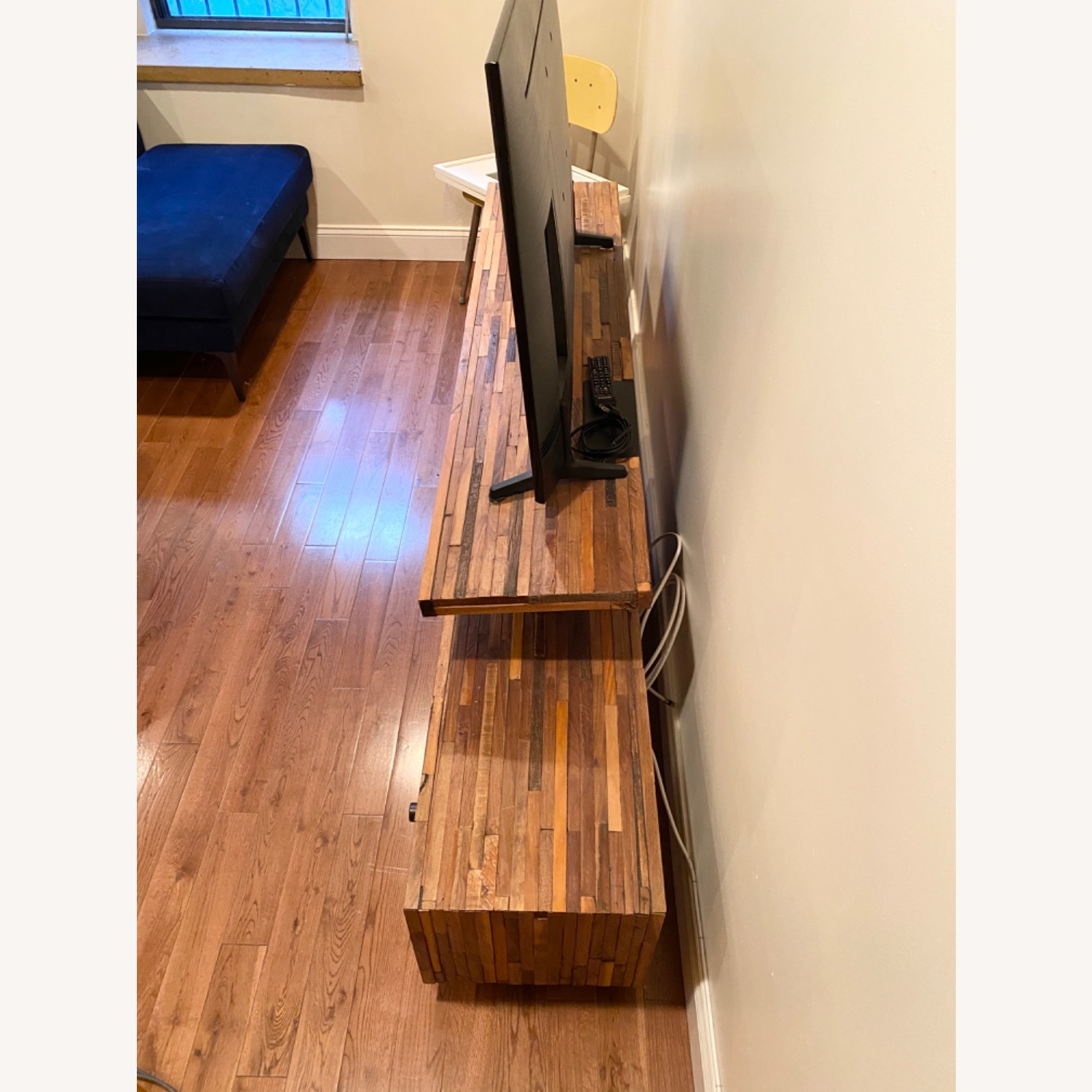 West Elm Staggered Wood Media Console - image-2