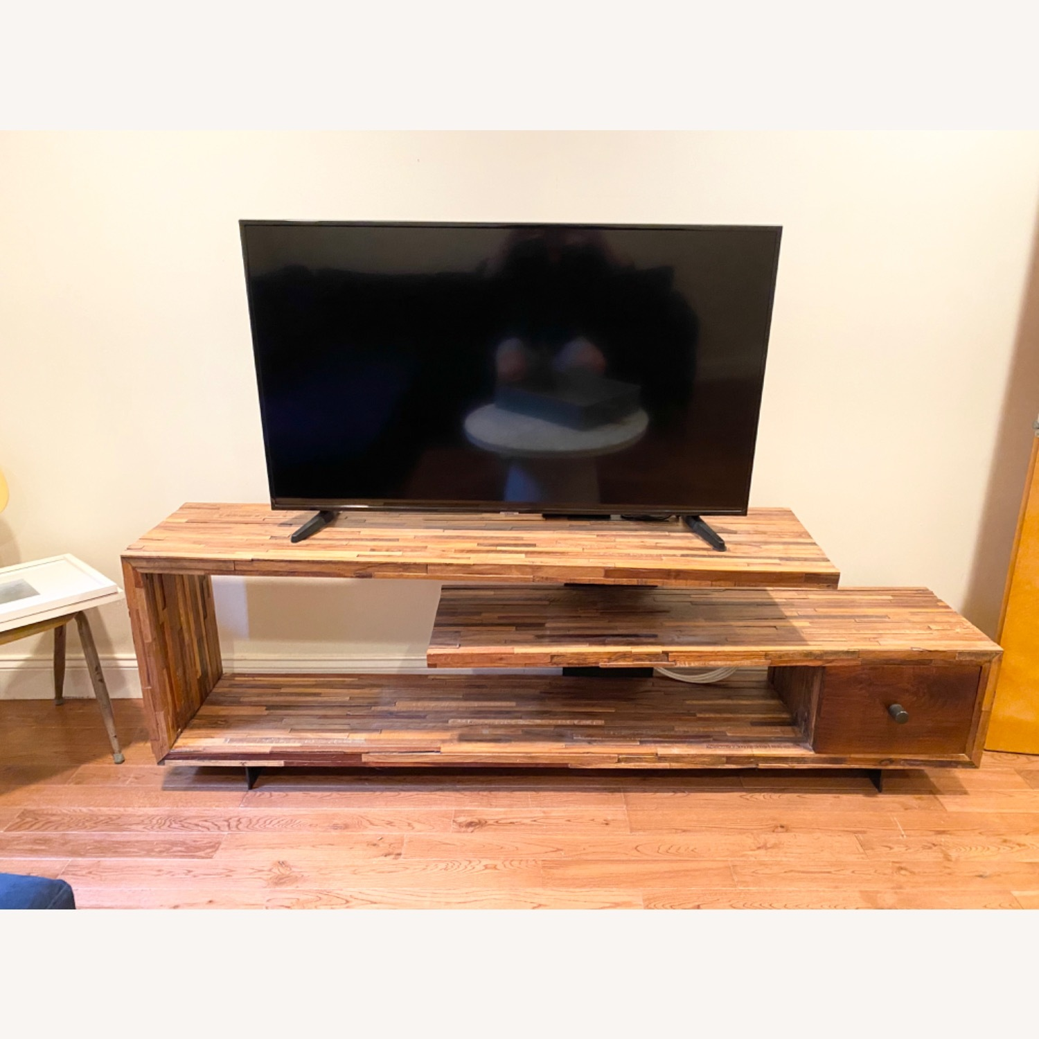 West Elm Staggered Wood Media Console - image-6
