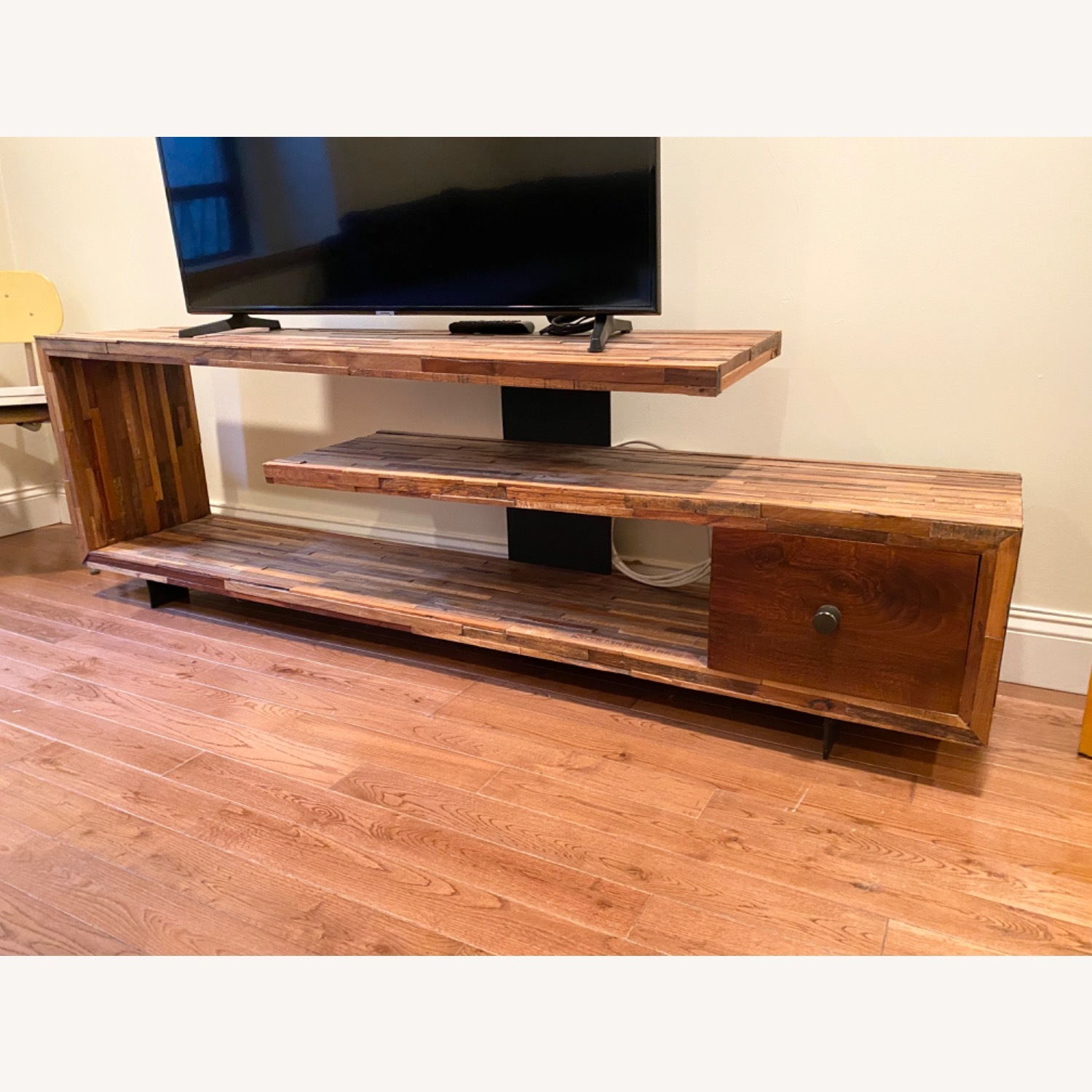 West Elm Staggered Wood Media Console - image-4