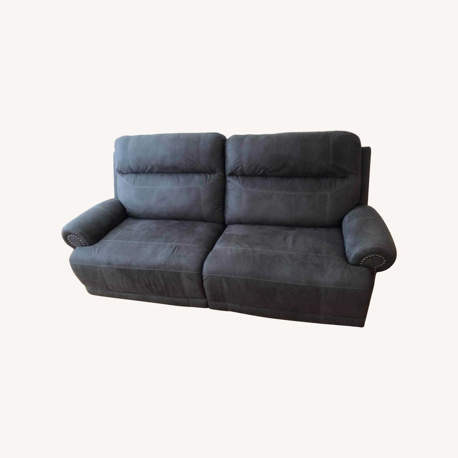 Wanek Furniture Company Electric Recliner Sofa - image-0