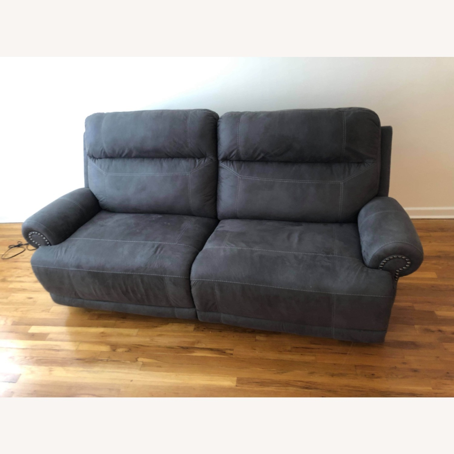 Wanek Furniture Company Electric Recliner Sofa - image-1