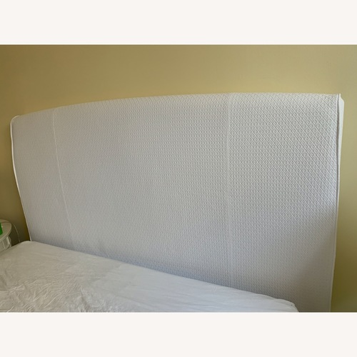 Used Pottery Barn Queen Size Upholstered Headboard for sale on AptDeco